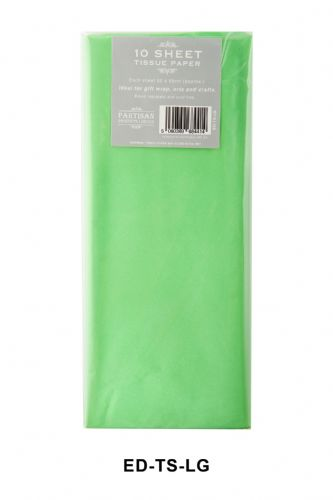 10 Sheet Tissue Paper  Mint